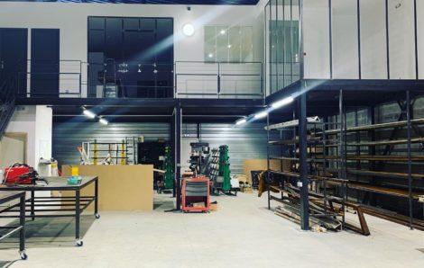 Création d'un espace de vie de 90 m2